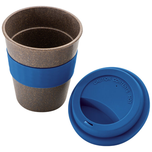 Bamboo Mug with Silicone Lid and Grip